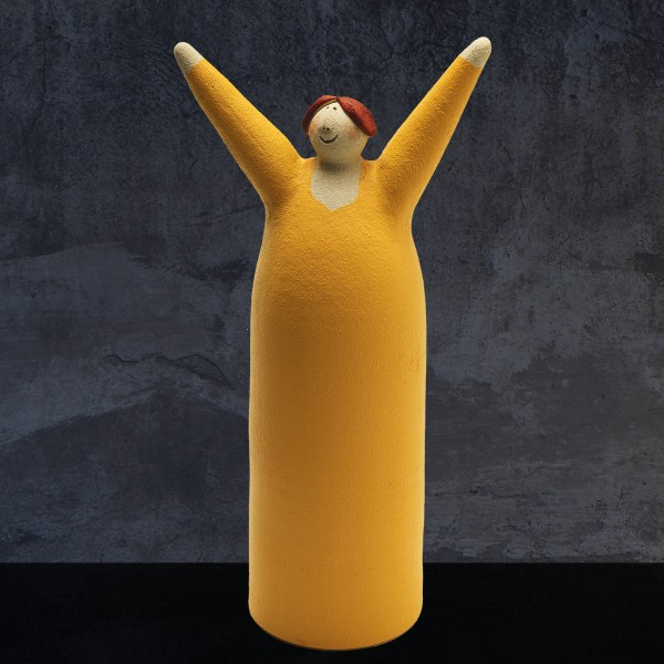 Freudenmädchen gelb