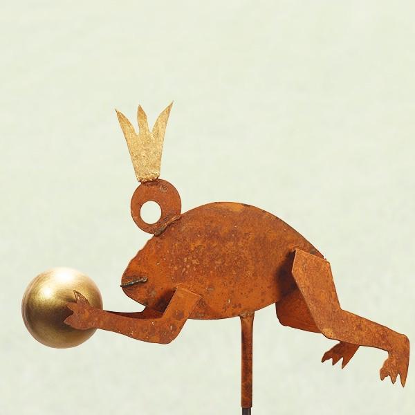 Froschkönig springend