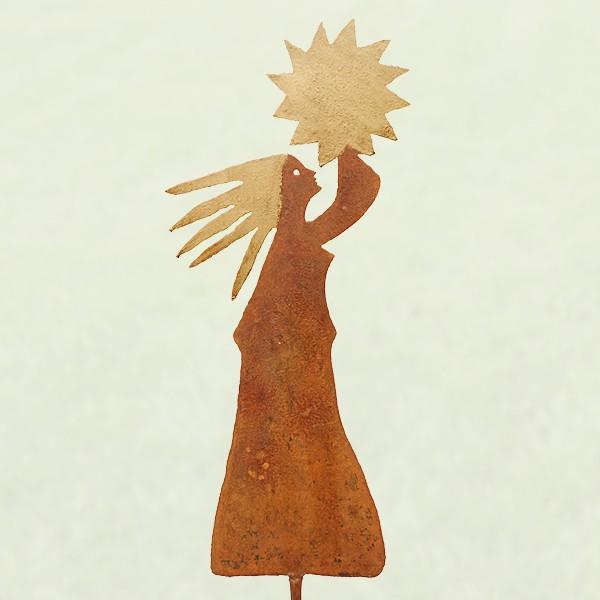 Sonnenfrau auf Stab