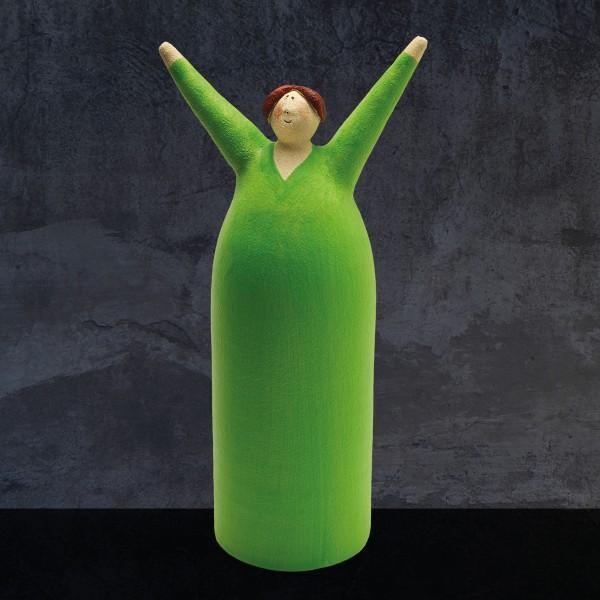 Freudenmädchen grün