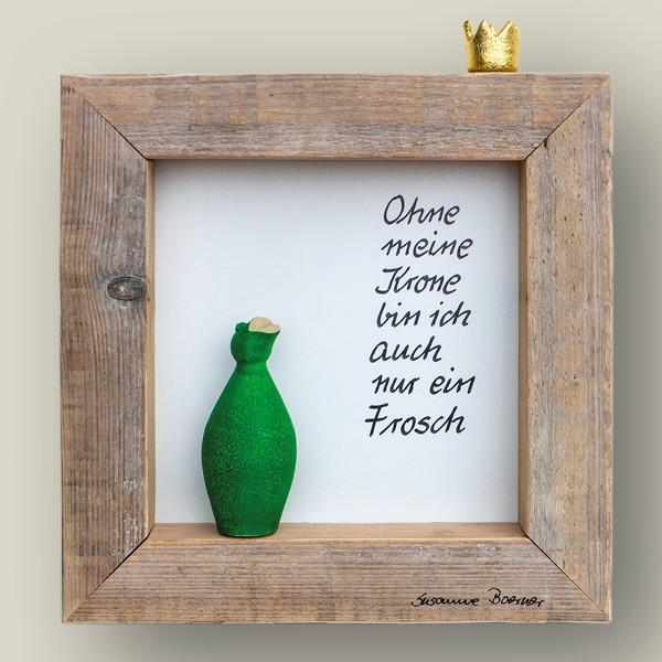 Ohne meine Krone bin ich...