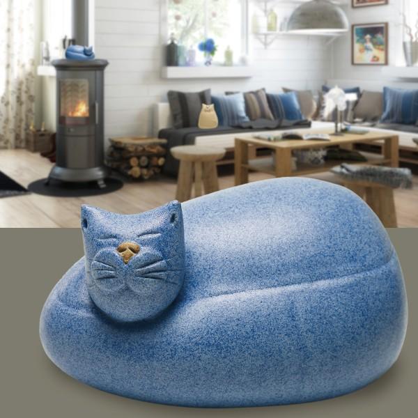 Kater Max, blau