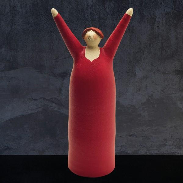 Freudenmädchen rot
