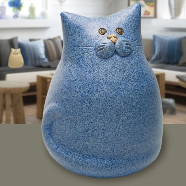 Kater Theo, blau